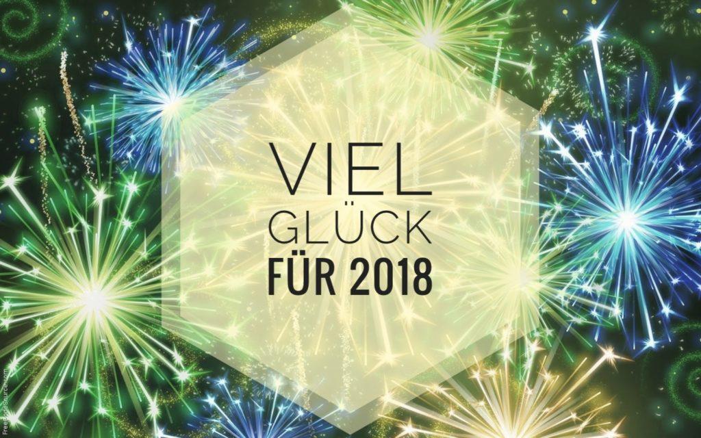 Viel Glück für 2018